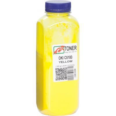 Тонер OKI C5100/5200/5300/5400 160г Yellow AHK (1501630)