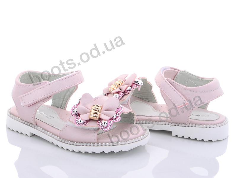 """Босоножки  детские """"W.niko"""" #D2662-4. р-р 26-31. Цвет розовый. Оптом"""