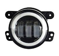 LED фара дополнительного света 30W 3000 Лм+ходовой огонь