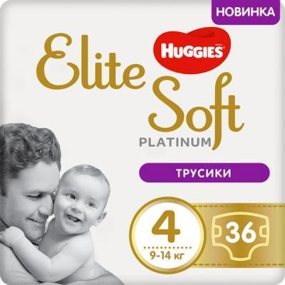 Підгузники Huggies Elite Soft Platinum Mega 4 9-14 кг 36 шт (5029053548197)