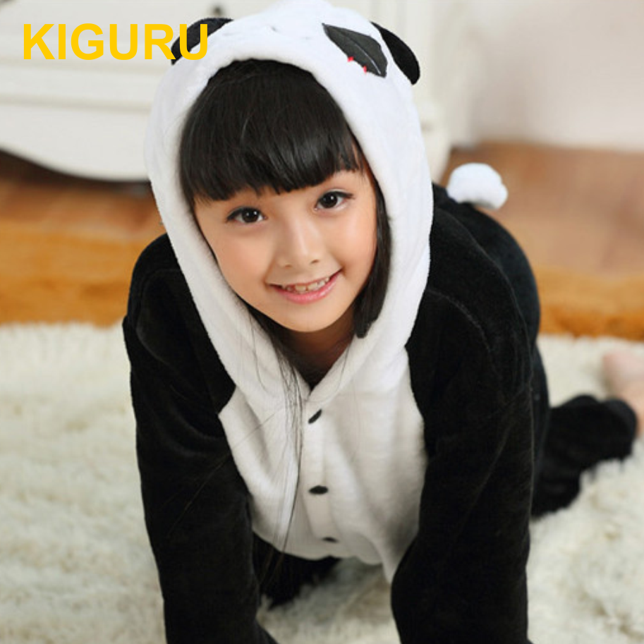 Пижама кигуруми панда детская