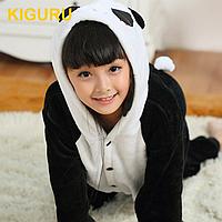 Пижама кигуруми панда детская Длинный, Унисекс, 80-100 см
