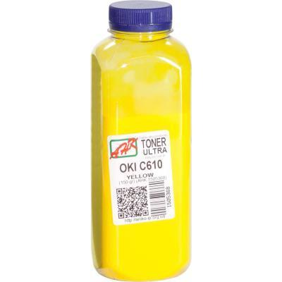 Тонер OKI C610 , 150г Yellow ULTRA COLOR AHK (1505368)