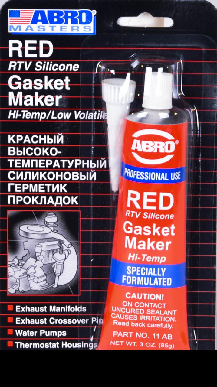 Герметик прокладок красный CH 85гр. ABRO (арт. 11-AB CH)