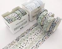 Скотч декоративный цветной Лесная сказка Santtiwodo набор 5 шт