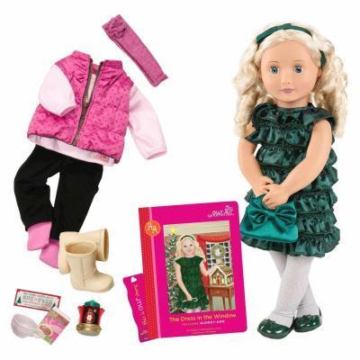 Кукла Our Generation DELUXE - Одри-Энн с книгой (BD31013ATZ)