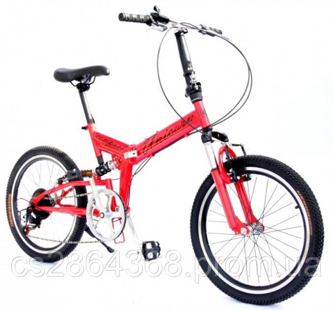 "Велосипед Unicorn  Compact 20"" размер рамы 13"" red"
