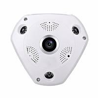 Панорамна камера відеоспостереження стельова MicroSD VR360 IPC CAMERA WIFI 1317VR, фото 1
