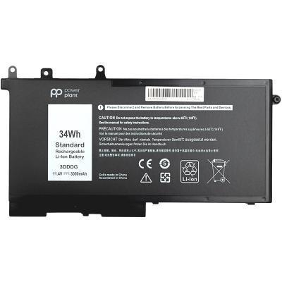 Аккумулятор для ноутбука DELL Latitude E5580 (3DDDG) 11.4V 3000mAh PowerPlant (NB441259)