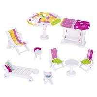 Игровой набор Goki Мебель садовая (51586G)