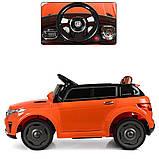 Детский электромобиль Land Rover Ленд Ровер M 5396EBLR-7 оранжевый для детей от 3 до 6 лет., фото 3