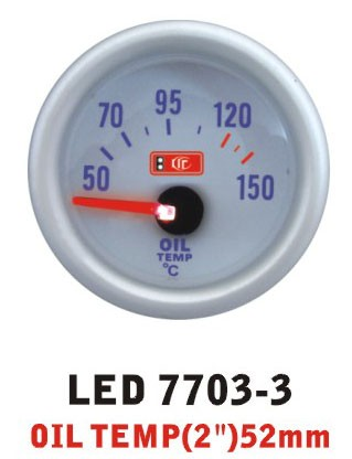 Дополнительный прибор Ket Gauge LED 7703-3 температура масла