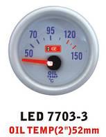 Дополнительный прибор Ket Gauge LED 7703-3 температура масла. Дополнительный прибор