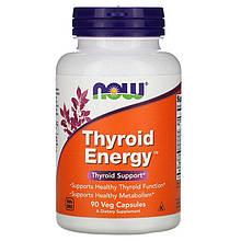 """Поддержка щитовидной железы NOW Foods """"Thyroid Energy"""" (90 капсул)"""
