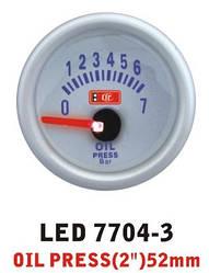 Дополнительный прибор Ket Gauge LED 7704-3 давление масла