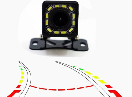 Камера заднего вида 103 с подсветкой и динамической разметкой, фото 2