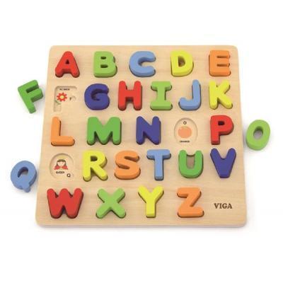 Розвиваюча іграшка Viga Toys Алфавіт: слово на літеру (50124)