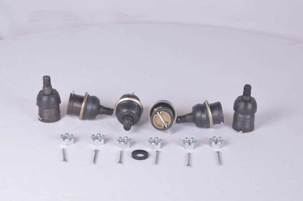 Шарнир тяги рулевой ГАЗ 24 (кт. 6 шт.) (ST70-107) (производство Трек) (арт. 24-3003029/62/74), rqv1qttr