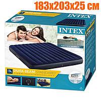 Надувной трёхместный матрас Intex Dura Beam Standart 64755 (183x203x25 см), 100% ОРИГИНАЛ!