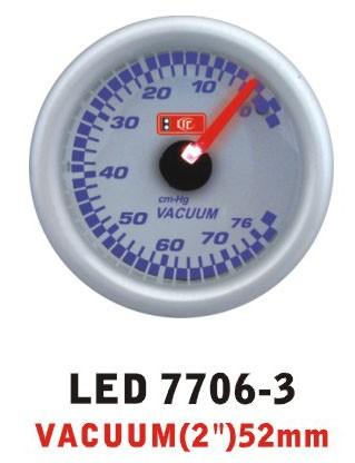 Дополнительный прибор Ket Gauge LED 7706-3 вакуум
