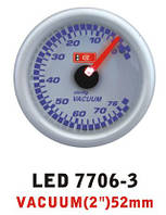 Дополнительный прибор Ket Gauge LED 7706-3 вакуум. Дополнительный прибор