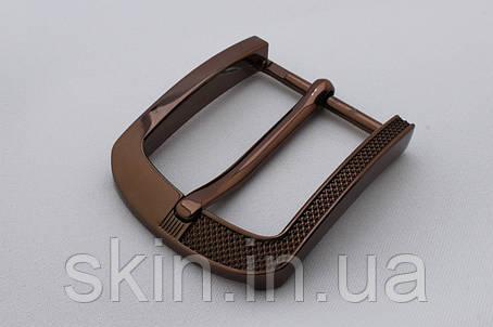 Пряжка ременная, ширина - 40 мм, цвет - бронза, артикул СК 5640, фото 2