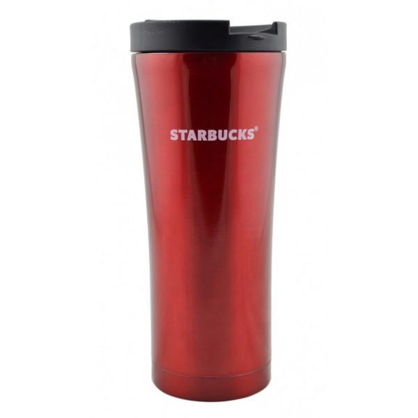 Термокружка металлическая UTM Starbucks 500 мл Red