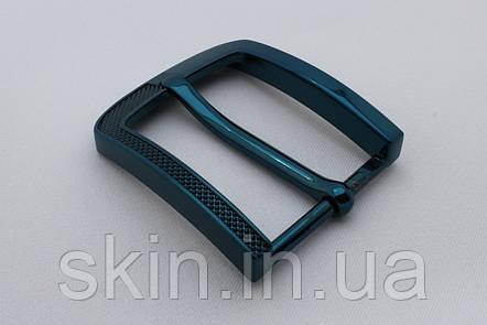 Пряжка ременная, ширина - 40 мм, цвет - черно-синий, артикул СК 5641, фото 2