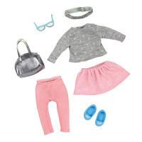 Аксессуар к кукле LORI Набор одежды для кукол - Модное безумие (LO30012Z)