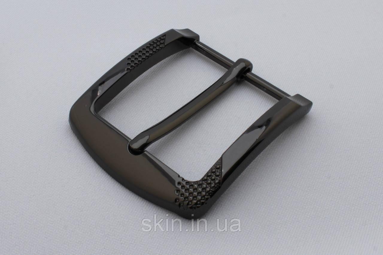 Пряжка ременная, ширина - 40 мм, цвет - черный, артикул СК 5643