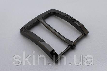 Пряжка ременная, ширина - 40 мм, цвет - черный, артикул СК 5643, фото 2
