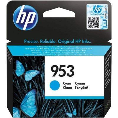 Картридж HP DJ No.953 Officejet Pro 8210/8710/8720/8725/8730 Cyan, 700с (F6U12AE)