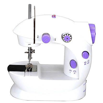 Швейная машинка FHSM 202 с адаптером, фото 2