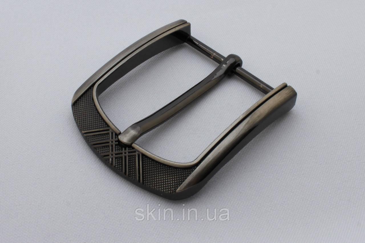 Пряжка ременная, ширина - 40 мм, цвет - сатен, артикул СК 5644