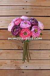 Искусственные цветы - Камелия пучок, 28 см