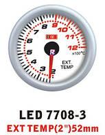 Дополнительный прибор Ket Gauge LED 7708-3 температура выхлопных газов EGT