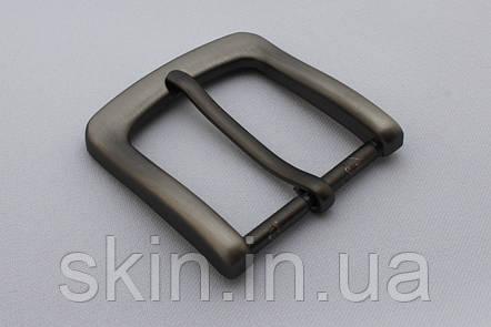 Пряжка ременная, ширина - 40 мм, цвет - серый, артикул СК 5648, фото 2