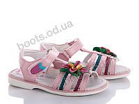 "Босоножки  детские ""Style-baby-Clibee"" #N1113 pink. р-р 25-30. Цвет розовый. Оптом"