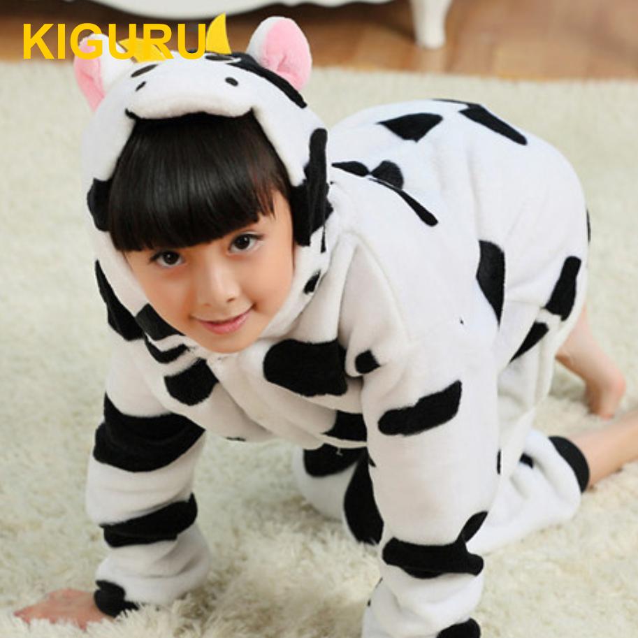 Детская пижама кигуруми корова  Лучшая цена и отличный ассортимент ... 425cb9ac8756e