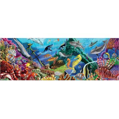 """Пазл Melіssa&Doug Мега """"Підводний оазис"""", 200 елементів (MD18907)"""