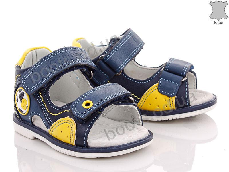 "Сандалии  детские ""Style-baby-Clibee"" #NF253 d.blue-moonblue. р-р 19-24. Цвет синий. Оптом"