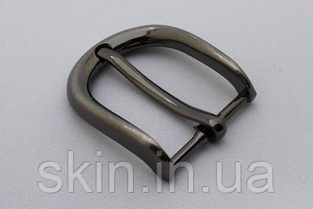 Пряжка ременная, ширина - 30 мм, цвет - черный никель, артикул СК 5651, фото 2