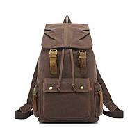 Міський рюкзак Augur з відділенням для ноутбуку коричневого кольору, фото 1