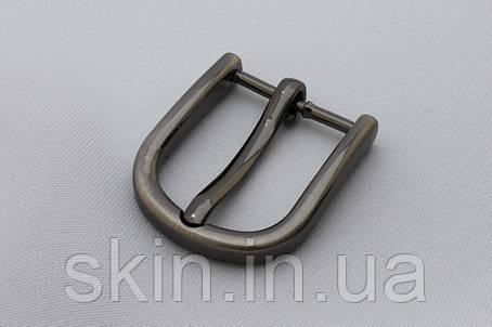 Пряжка ременная, ширина - 25 мм, цвет - черный никель, артикул СК 5655, фото 2