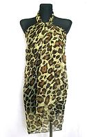 Легкое парео Fashion Алисия 155*95 см оливковый
