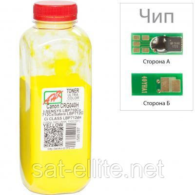 Тонер Canon LBP-710/712, 180г Yello +chip AHK (1505201)