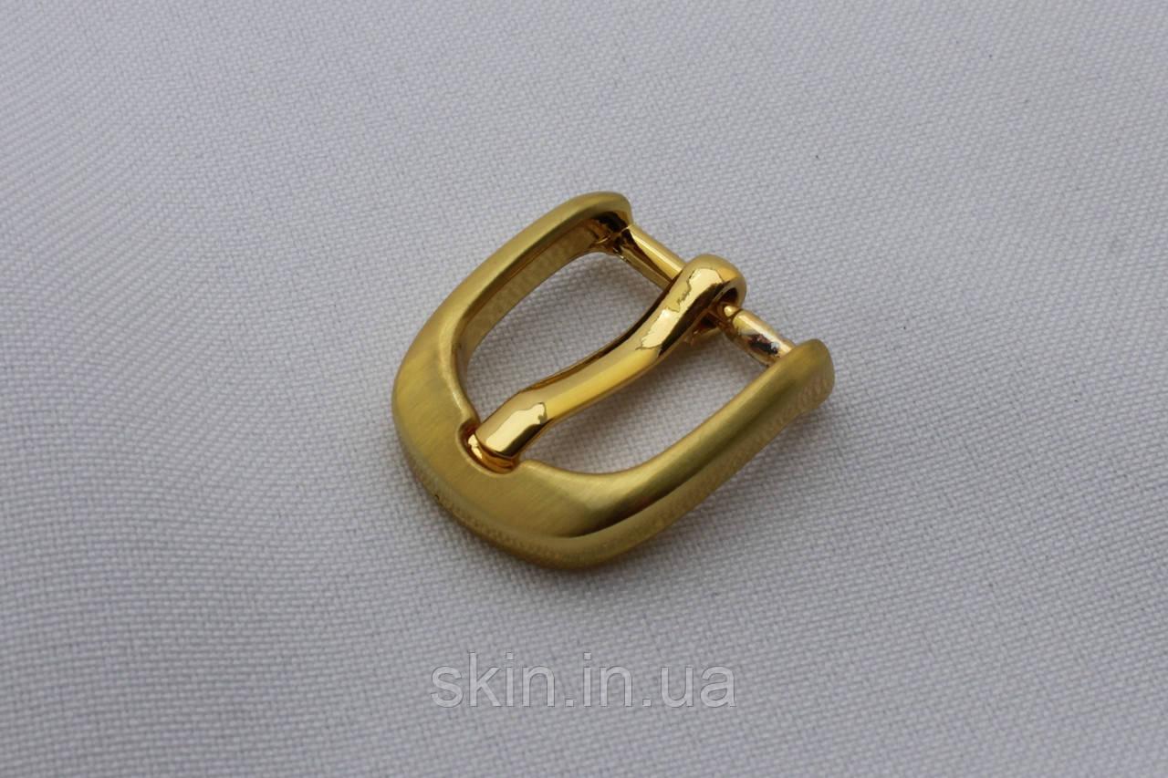 Пряжка ремінна, ширина - 15 мм, колір - золотистий, артикул СК 5661