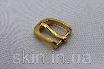 Пряжка ременная, ширина - 15 мм, цвет - золото, артикул СК 5661, фото 2