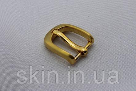 Пряжка ремінна, ширина - 15 мм, колір - золотистий, артикул СК 5661, фото 2