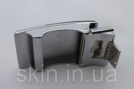 Пряжка ременная, ширина - 36 мм, цвет - черный/никель, артикул СК 5663, фото 2